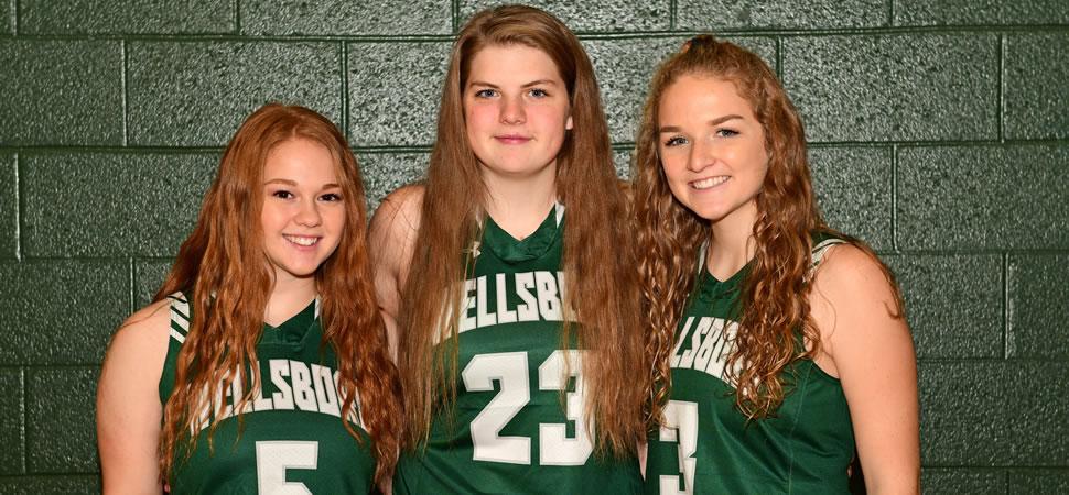 2018 Wellsboro Hornets Senior Class Girls Basketball Roster