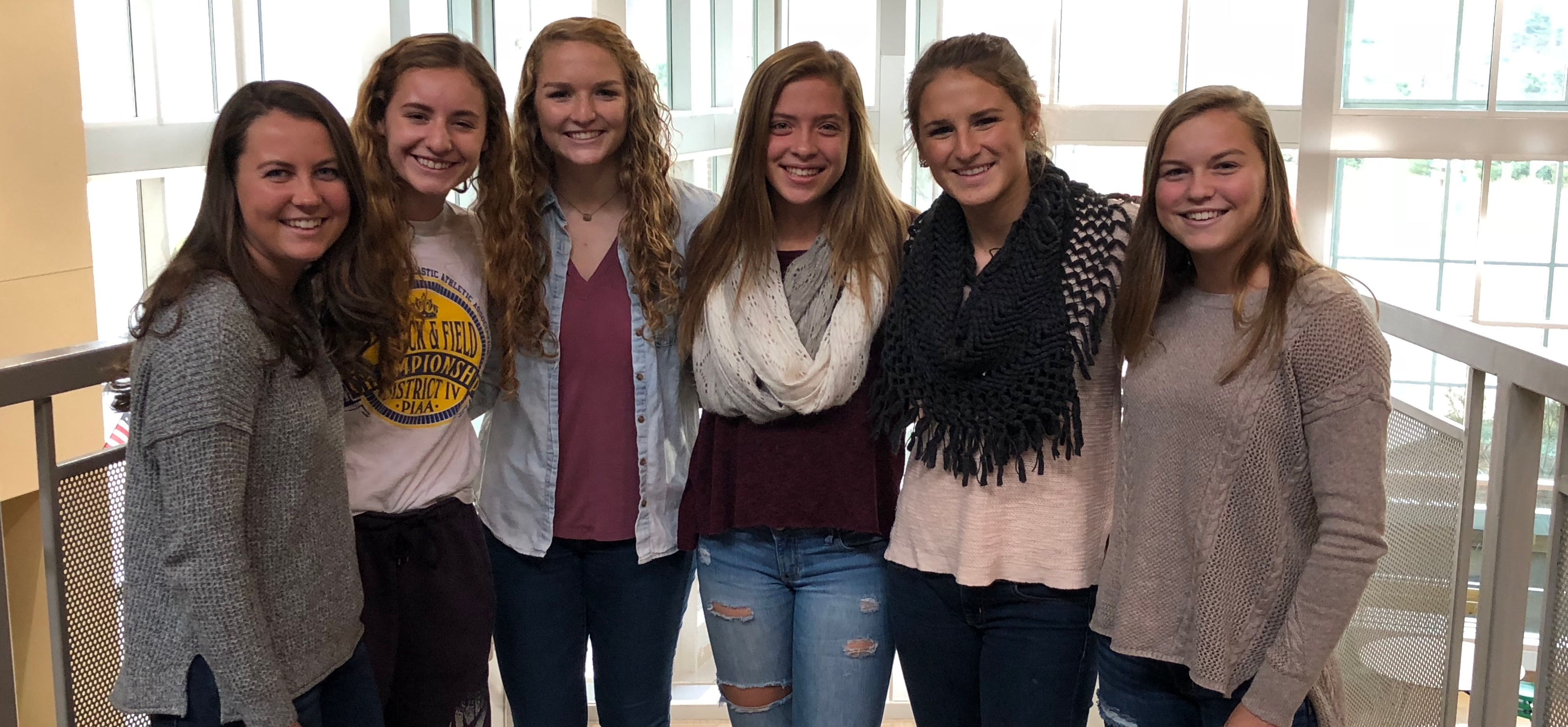 Six Lady Hornets named to All-Region Soccer team.