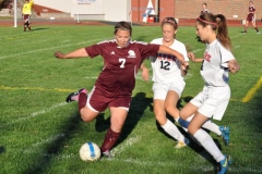 2013 Sayre vs. Northeast Bradford Girls Soccer