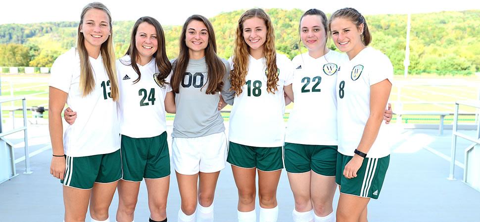 2017 Wellsboro Hornets Senior Class Girls Soccer Roster