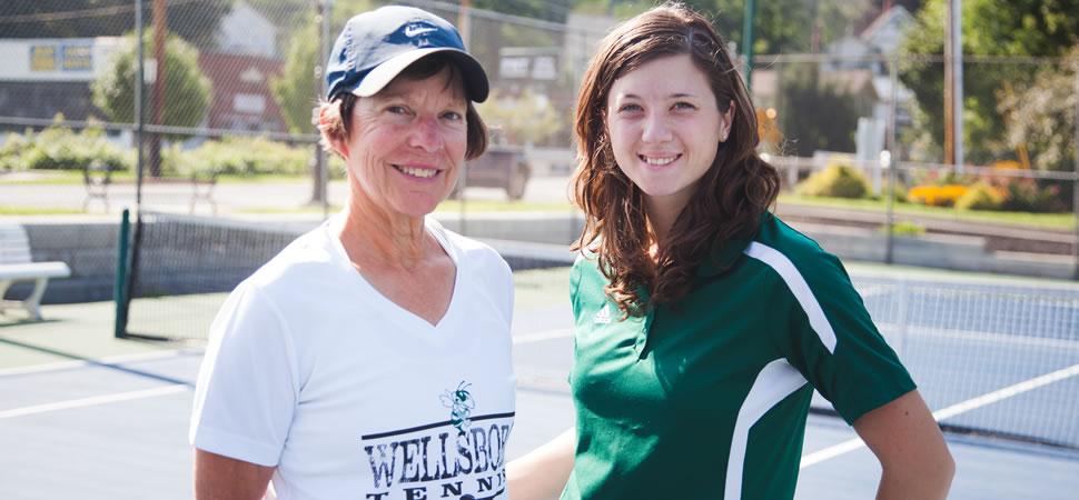 2018 Wellsboro Hornets Girls Tennis Coaching Staff