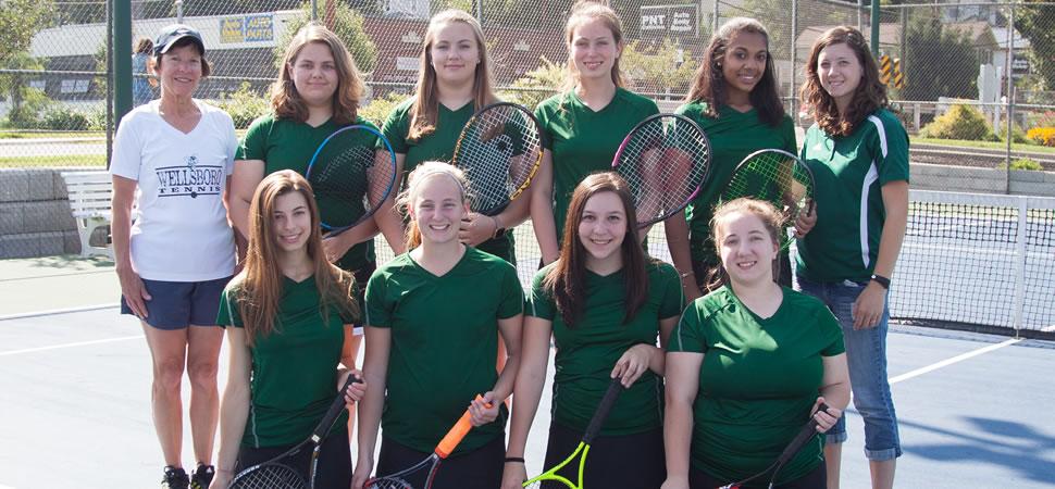 2018 Wellsboro Hornets Varsity Girls Tennis Roster