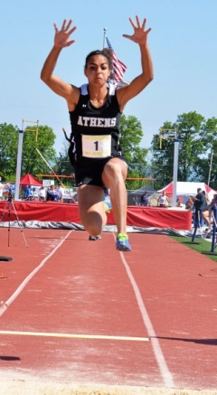 Athens' Gambrell captures state long jump title