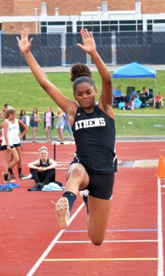 Dominant day by four NTL girls at districts.