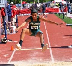 Wellsboro's Jackson gets medal in long jump