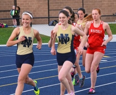 2015 Notre Dame vs. Waverly Girls Track