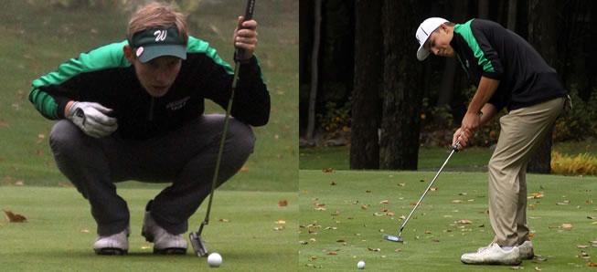 Barnett, Tuttle named to All-Region Golf team.
