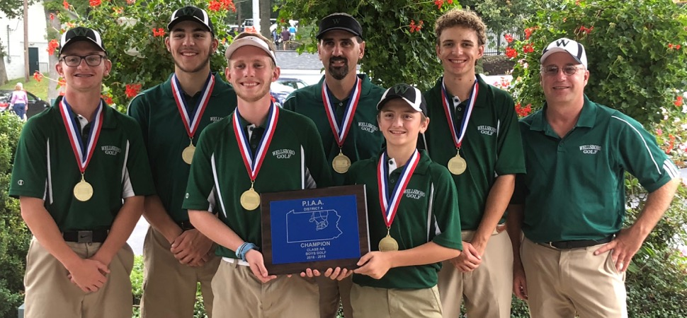 Hornets capture District 4 golf championship.
