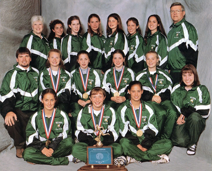 1997 Girls Cross Country Team
