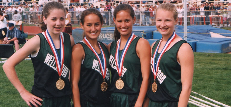 1998 Girls Track 4x800m Relay Team