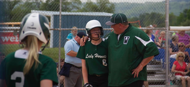 Lady Hornets knock off defending state champs, reach District final.