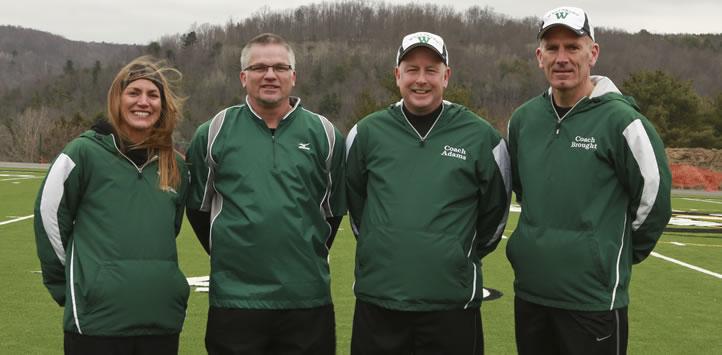 2017 Wellsboro Hornets Softball Coaching Staff