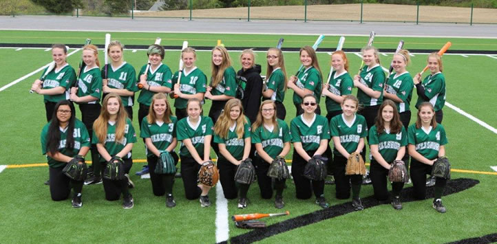 2017 Wellsboro Hornets Middle School Softball Roster