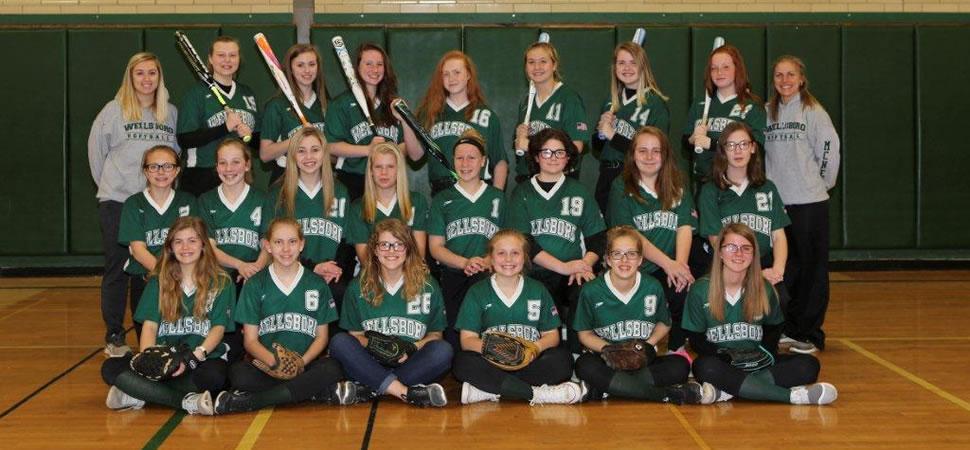 2018 Wellsboro Hornets Middle School Softball Roster