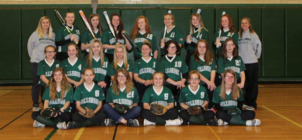 2018 Wellsboro Middle School Softball Team