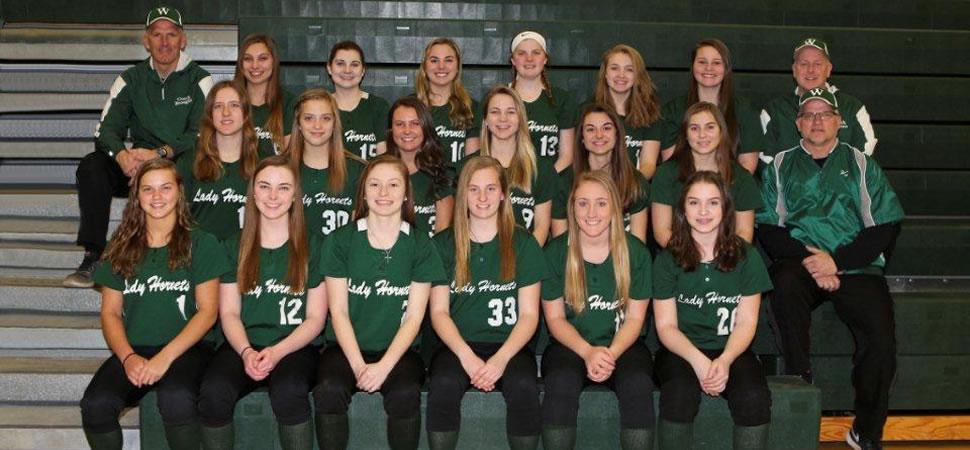2018 Wellsboro Varsity Softball Team