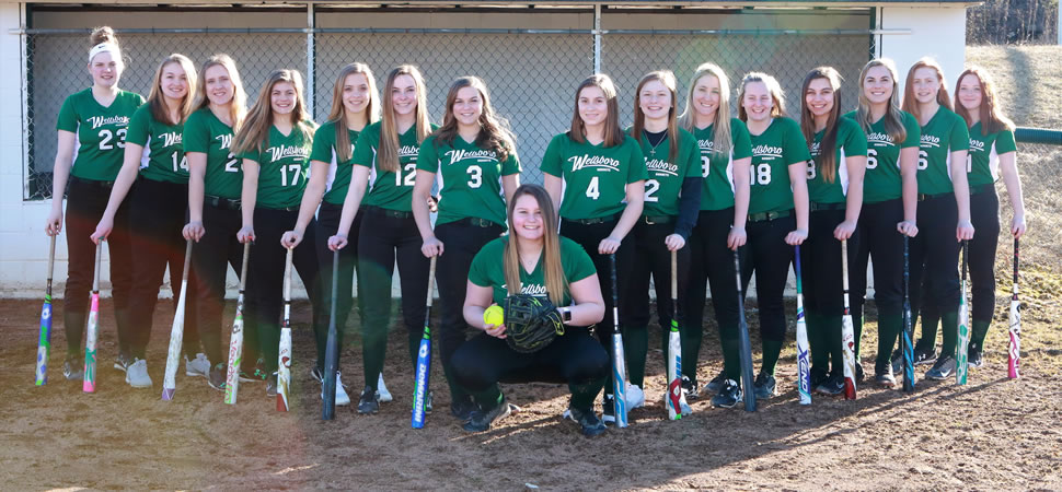 2019 Wellsboro Varsity Softball Team