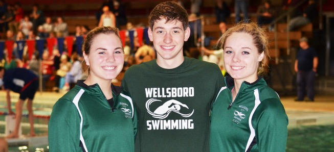 Three Hornets break pool records at NTL Meet.