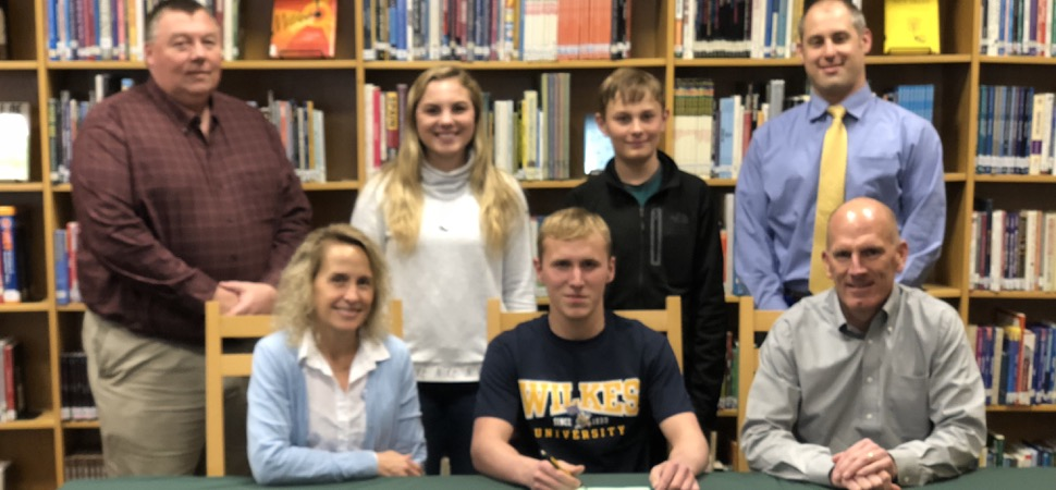 Brought to swim for Wilkes University.