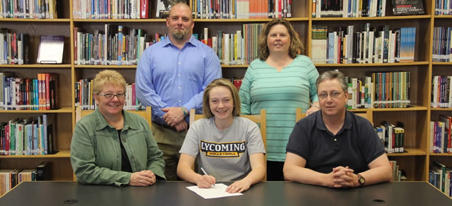 Warriner continues volleyball career at Lycoming College.