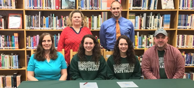 Florio sisters to continue volleyball careers.