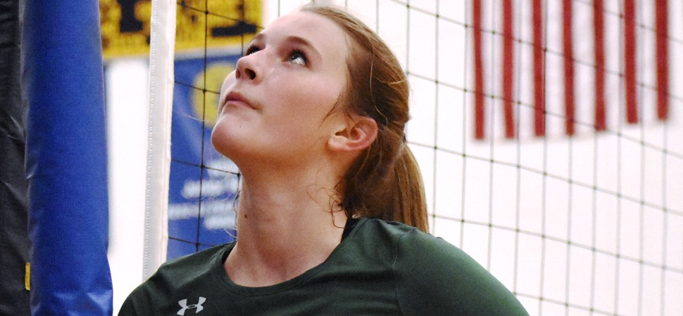 Callahan named to All-State Volleyball team.