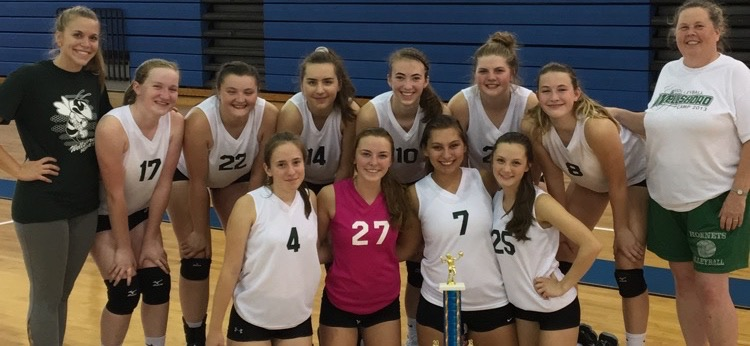 Lady Hornets capture Central Mountain Silver Bracket tournament gold.