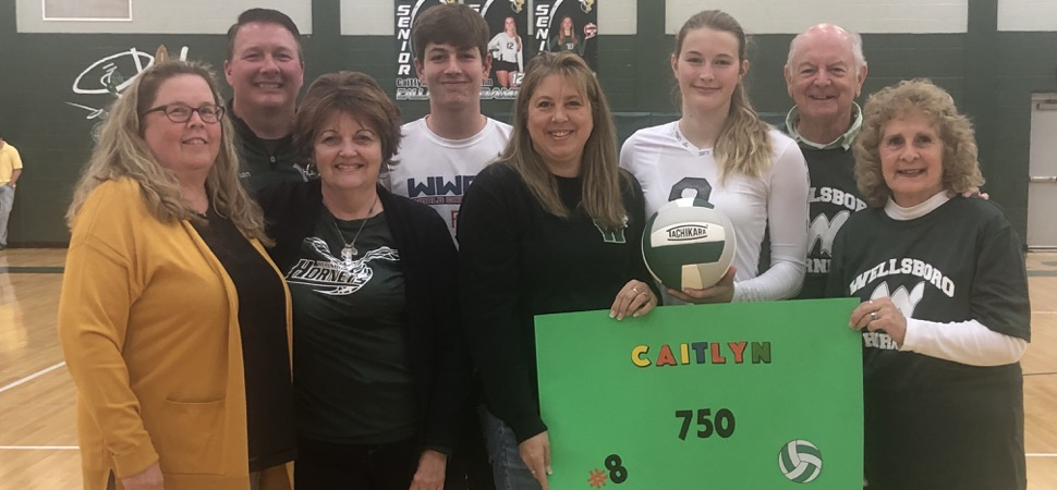 Callahan records 750th kill as Lady Hornets sweep South.