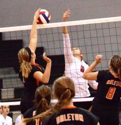 Galeton falls in regional volleyball