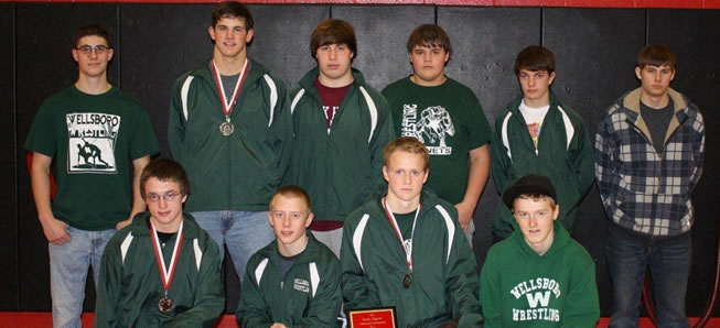 Hornet wrestlers sixth at Mount Carmel Tournament.