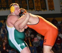 Wyalusing wrestling downs Benton