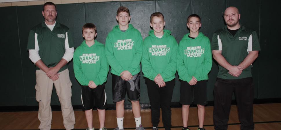 2017 Wellsboro Hornets Middle School Wrestling Roster