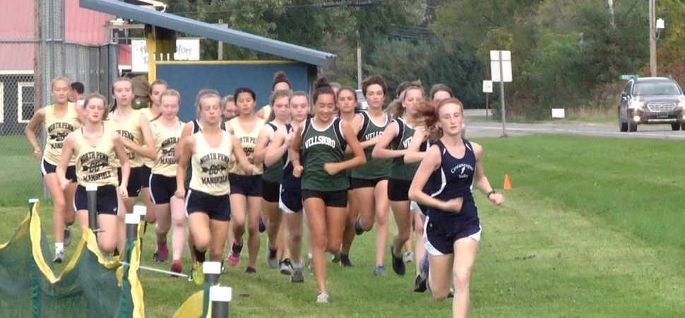 Mansfield XC sweeps CV, Wellsboro.