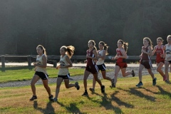 2013 Mansfield vs. Northeast Bradford, Troy, and Canton Girls Cross Country