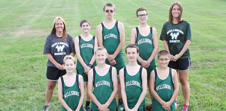 2017 Wellsboro Middle School Boys Cross Country Team