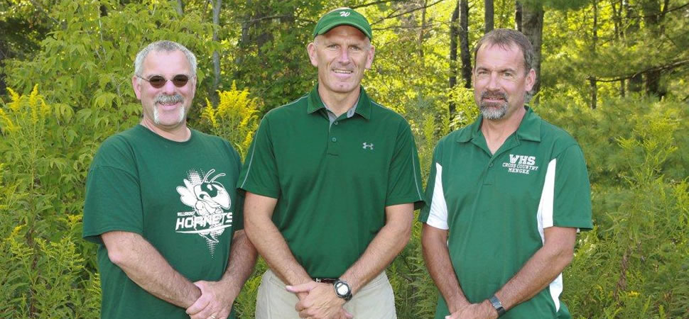 2017 Wellsboro Hornets Boys Cross Country Coaching Staff