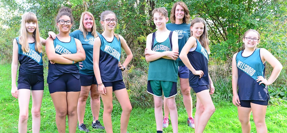 2017 Wellsboro Hornets Middle School Girls Cross Country Roster